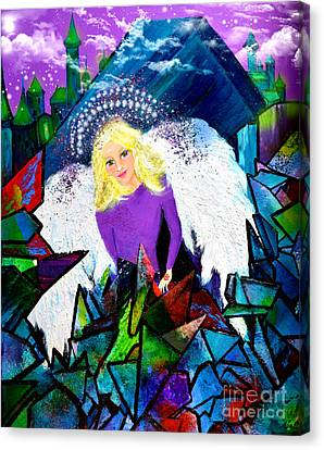 Guardian Angel Canvas Print by Patricia Motley