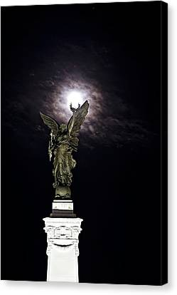 Guardian Angel Canvas Print by Sarita Rampersad