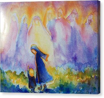 Guardian Angels Canvas Print
