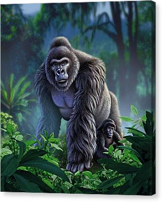 Guardian Canvas Print by Jerry LoFaro