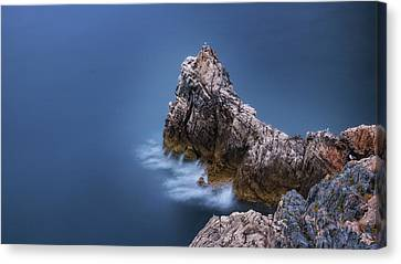 Guardian Of The Sea Canvas Print