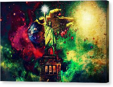 Guardians Of Freedom II Canvas Print by Aurelio Zucco