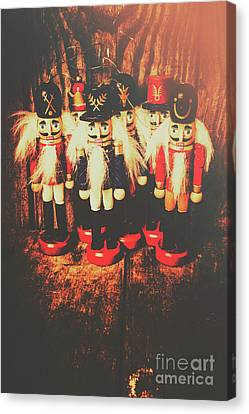 Doll Canvas Print - Guards Of The Toy Box by Jorgo Photography - Wall Art Gallery
