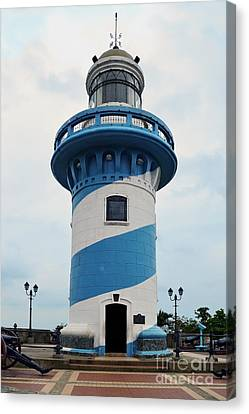 Guayaquil Lighthouse Canvas Print by Catherine Sherman