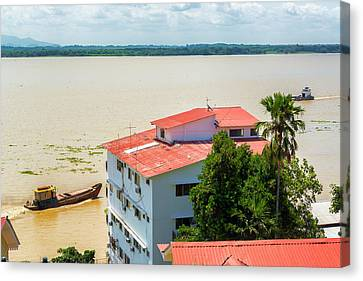Guayaquil River View Canvas Print by Jess Kraft
