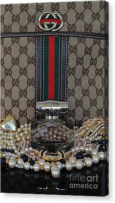Gucci Bamboo 6 Canvas Print by To-Tam Gerwe