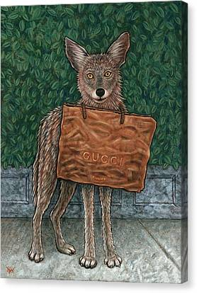 Gucci Coyote Canvas Print