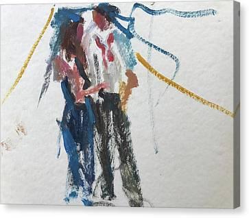 Guests 24 Canvas Print