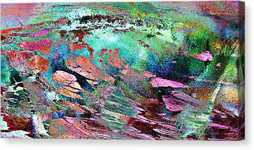 Guided By Intuition - Abstract Art Canvas Print by Jaison Cianelli