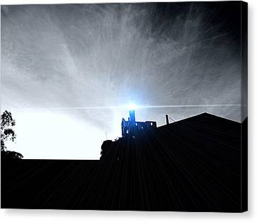 Guiding Light-alcatraz Canvas Print