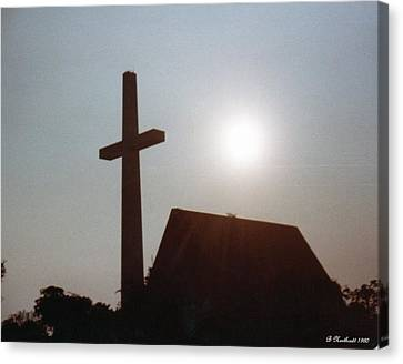 Canvas Print featuring the photograph Guiding Light by Betty Northcutt