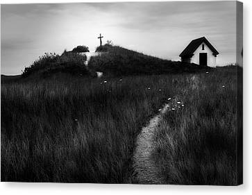 Canvas Print featuring the photograph Guiding Light by Bill Wakeley