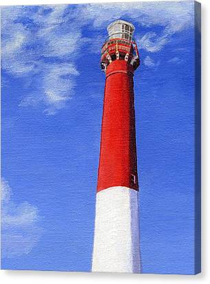 Canvas Print featuring the painting Guiding Light by Lynne Reichhart