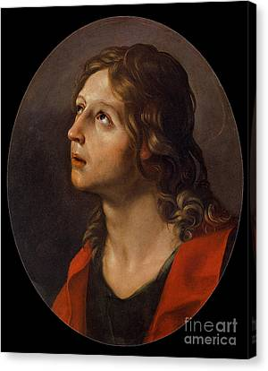St John The Evangelist Canvas Print - Guido Reni by MotionAge Designs