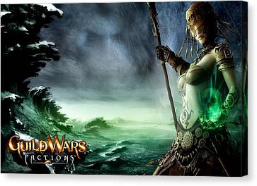 Guildwars Factions Canvas Print by F S
