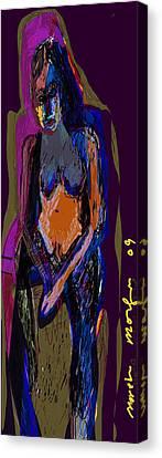 Guilt Canvas Print by Noredin Morgan