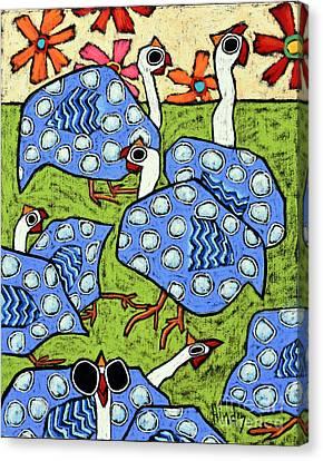 Guineas Canvas Print