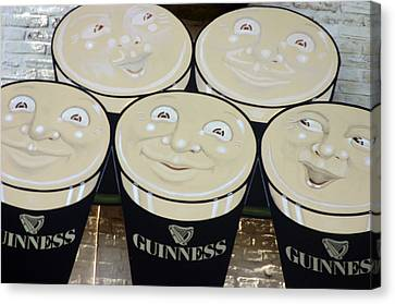 Guiness Time 2 Canvas Print