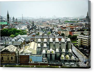 Guinness Brewery In Dublin Canvas Print