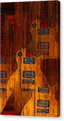 Guitar Army Canvas Print by Bill Cannon