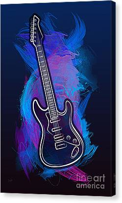Guitar Craze Canvas Print