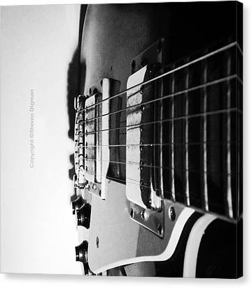 Classic Canvas Print - The Guitar  by Steven Digman