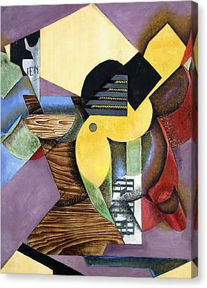Guitar Canvas Print by Juan Gris