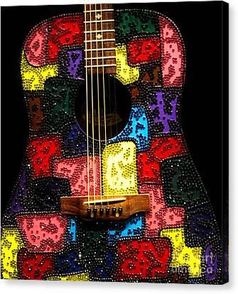 Canvas Print - Guitar by Paulette Thomas