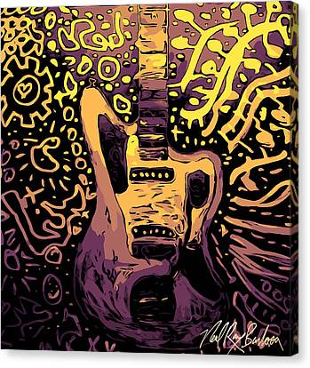 Guitar Slinger Canvas Print