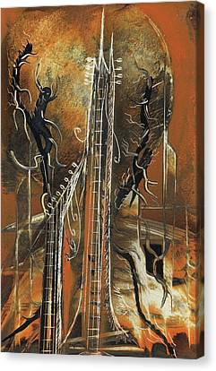 Guitar World Canvas Print