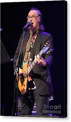 Guitarist Dave Davies Canvas Print by Concert Photos