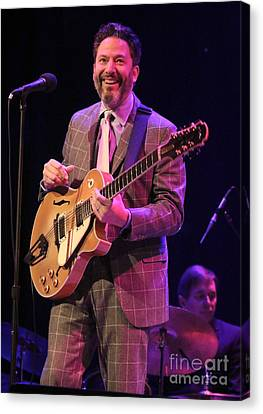 Guitarist John Pizzarelli Canvas Print by Concert Photos
