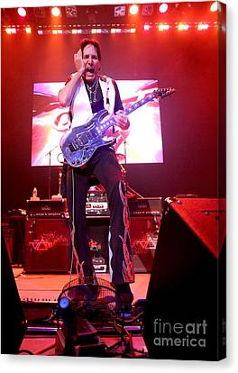 Guitarist Steve Vai Canvas Print by Concert Photos