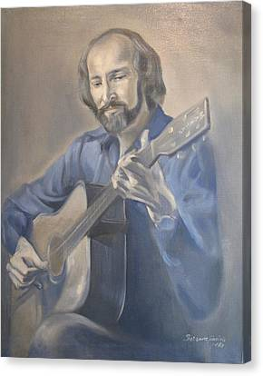 Guitarist  Canvas Print
