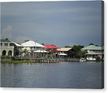 Gulf Coast Community Canvas Print by Sheri McLeroy