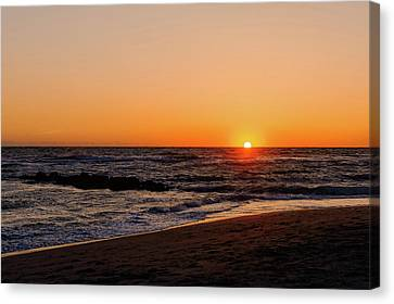 Southwest Florida Sunset Canvas Print - Gulf Coast Sunset  - Maxbar125 by Frank J Benz