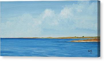 Gulf Impression 1 Canvas Print