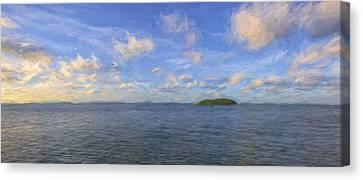 Gulf Island II Canvas Print by Jon Glaser