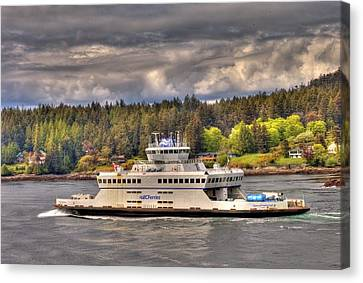Gulf Islands 7 Canvas Print by Lawrence Christopher