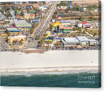 Gulf Shores - Hwy 59 Canvas Print