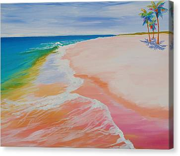 Gulf Side Canvas Print