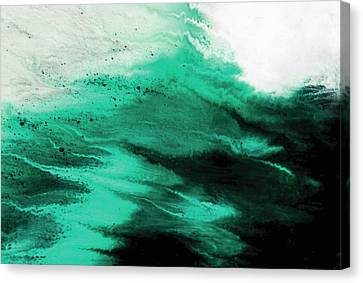 Gulf Storm Canvas Print by Camille Hurst