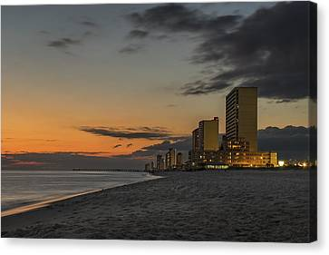 Panama City Beach Canvas Print - Gulf Sunset by Kevin Ruck