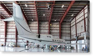 Gulfstream G-iv Canvas Print by Guy Whiteley