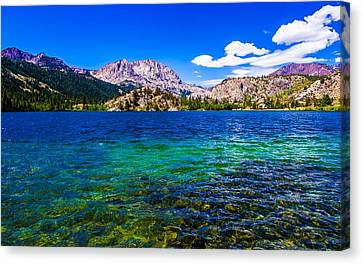 Gull Lake Near June Lakes California Canvas Print by Scott McGuire