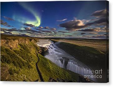 Gullfoss Iceland Canvas Print by Gunnar Orn Arnason