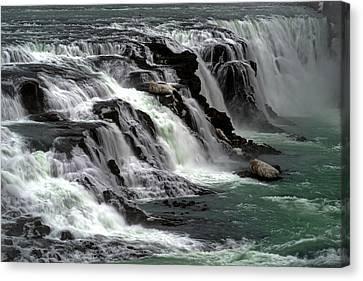 Gullfoss Waterfalls, Iceland Canvas Print