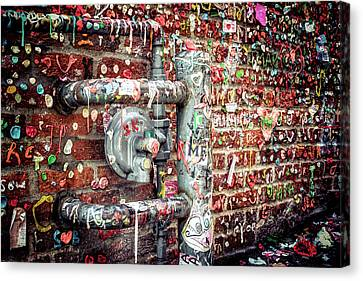 Canvas Print featuring the photograph Gum Drop Alley by Spencer McDonald