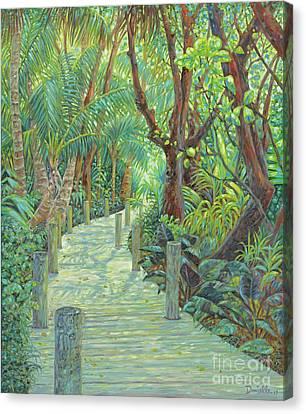 Gumbo Limbo Path Canvas Print