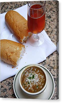 Gumbo Lunch Canvas Print